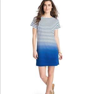 Vineyard Vine Striped Tee/ Shirt Dress
